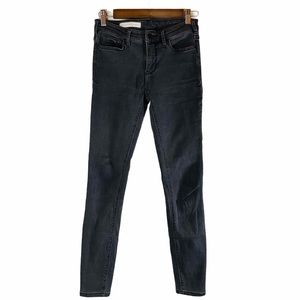 Pilcro and the LetterPress Skinny Jeans Gray Sz:28
